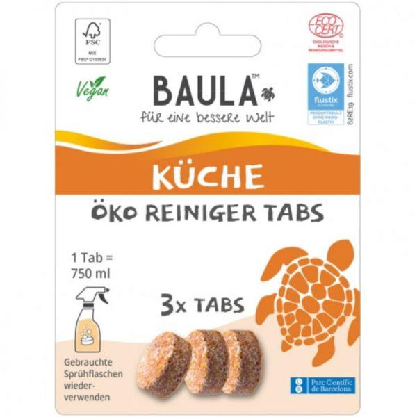Küchen Öko Reiniger Tabs, 3 Tabs - BioBaula