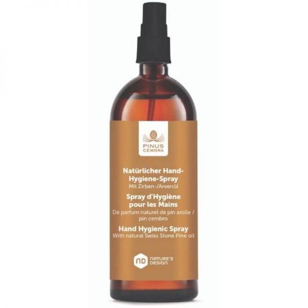Natürlicher Händedesinfektion-Hygienespray, 100ml - Pinus Cembra