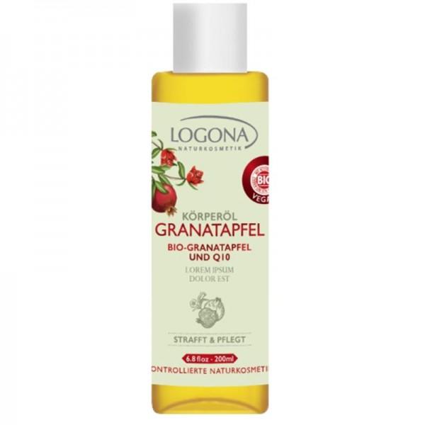 Körperöl Bio-Granatapfel & Q10, 100ml - Logona
