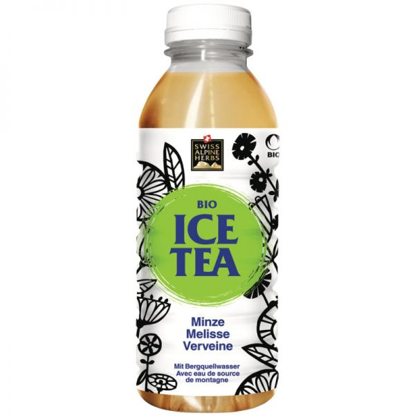 Ice Tea Alpenkräuter Bio, 500ml - Swiss Alpine Herbs
