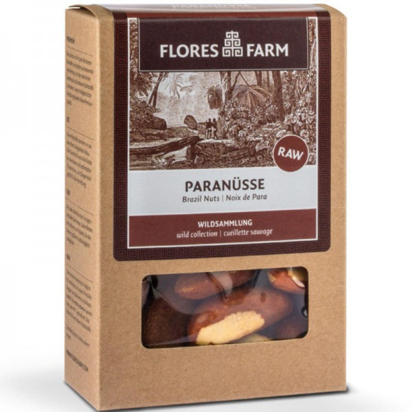 Paranüsse Bio, 100g - Flores Farm