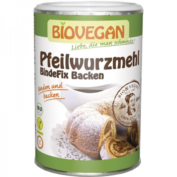 Pfeilwurzmehl BindeFix Backen Bio, 200g - Biovegan