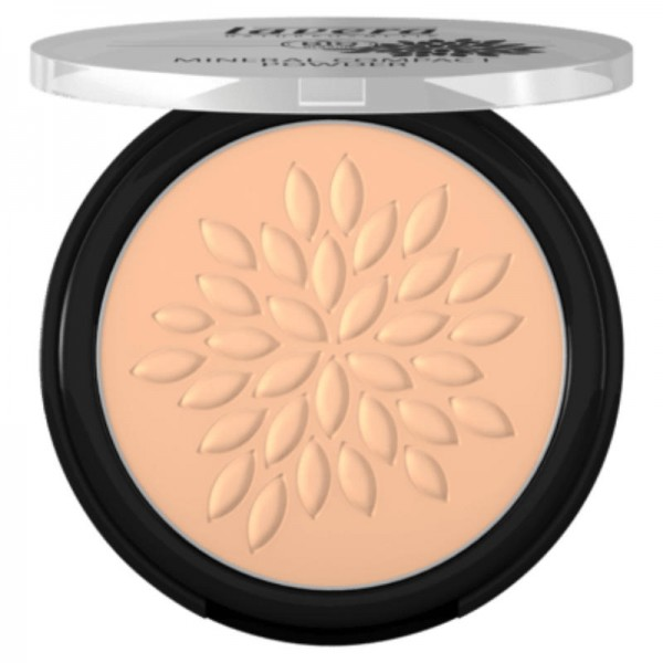 Mineral Compact Powder Honey 03, 7g  - Lavera