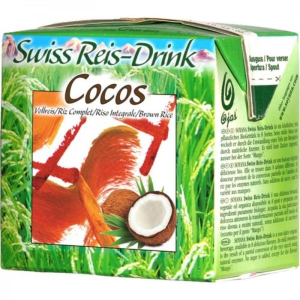 Cocos Swiss Reis-Drink Bio, 500ml - Soyana