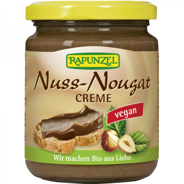 Nuss-Nougat Creme Bio, 250g - Rapunzel