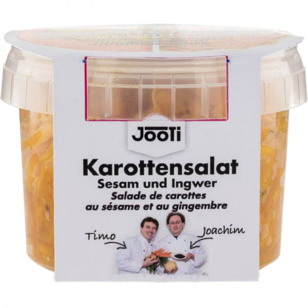 Karottensalat Sesam und Ingwer Bio, 250g - JooTi