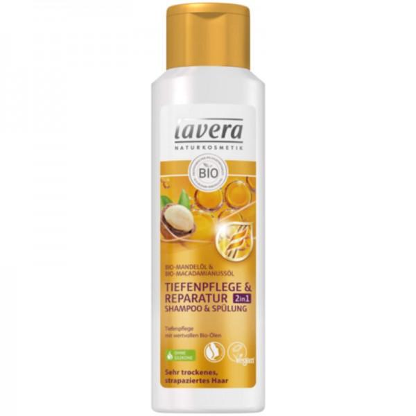 Tiefenpflege & Reparatur 2in1 Shampoo & Spülung, 250ml - Lavera