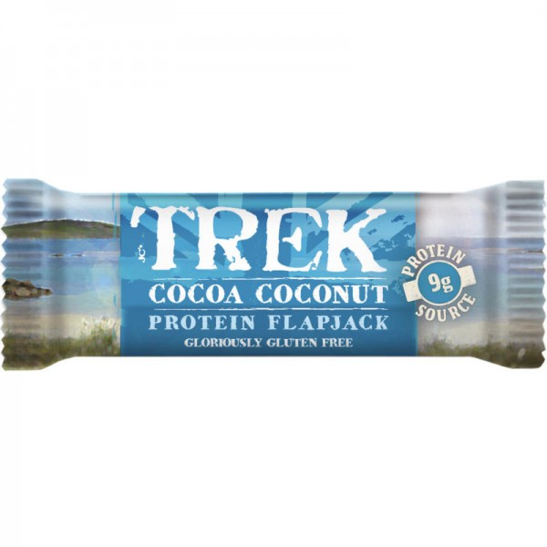 Cocoa Coconut Protein Flapjack, 50g - Trek