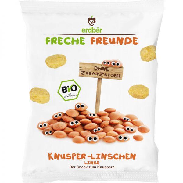 Knusper-Linschen Snack Bio, 25g - Freche Freunde
