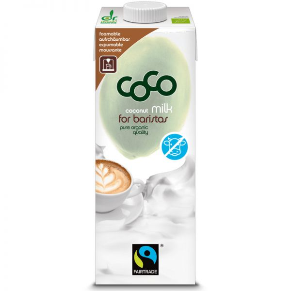 Coco Milk for Baristas Bio, 1L - Dr. Martins