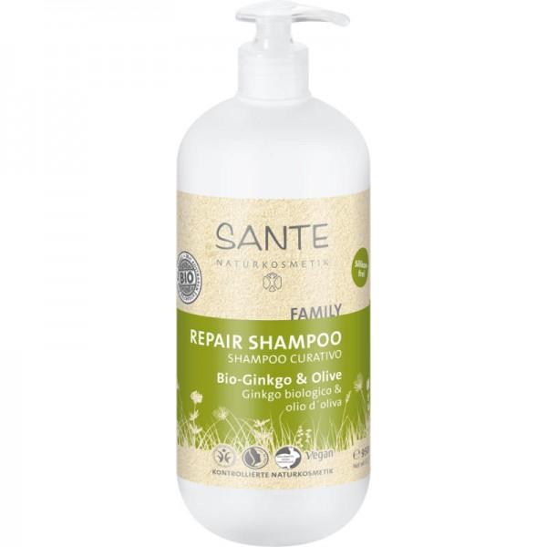Family Repair Shampoo Bio-Ginkgo & Olive, 950ml - Sante