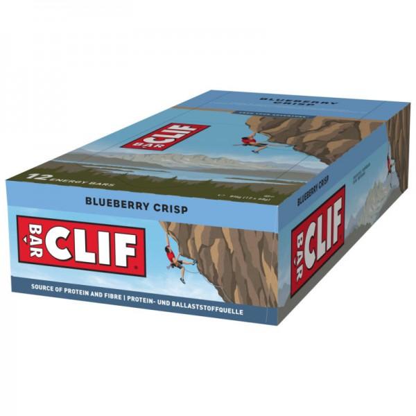 Blueberry Crisp Riegel Box, 12 Stück - Clif Bar