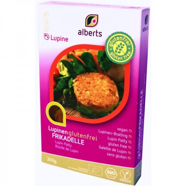 LupinenFRIKADELLE glutenfrei Bio, 200g - Alberts