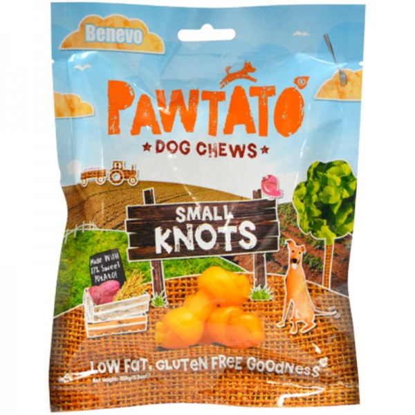 Pawtato Small Knots, 150g - Benevo