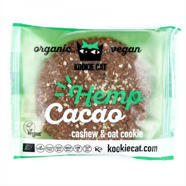Hemp Cacao Bio, 50g - Kookie Cat