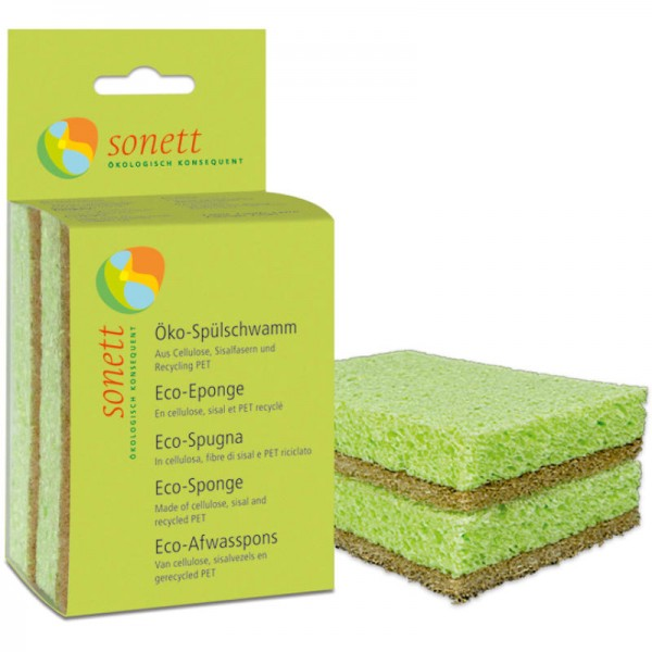 Öko-Spülschwamm, 2er Pack - Sonett