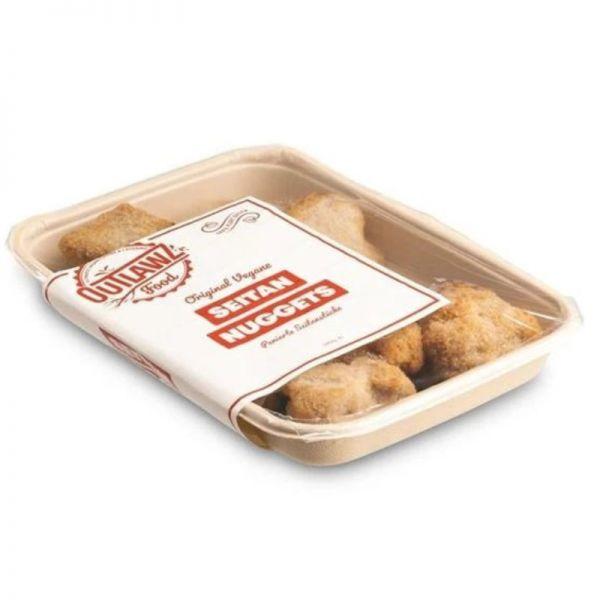 Seitan Nuggets, 340g - Outlawz Food