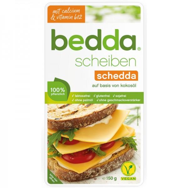 schedda Scheiben mit Calcium & Vitamin B12, 150g - bedda