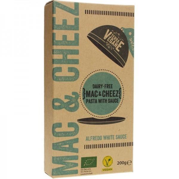 Mac & Cheez Alfredo White Bio, 200g - Terra Vegane