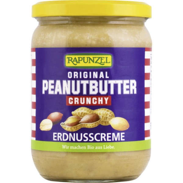 Original Peanutbutter Crunchy Bio, 500g - Rapunzel
