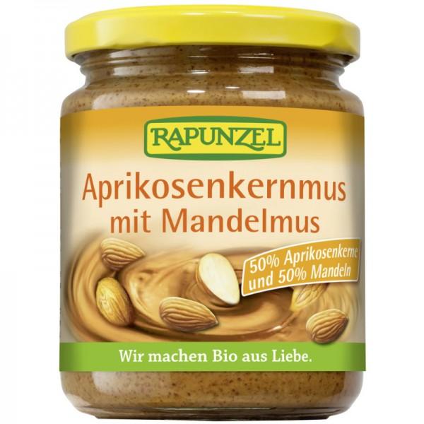 Aprikosenkernmus mit Mandelmus Bio, 250g - Rapunzel