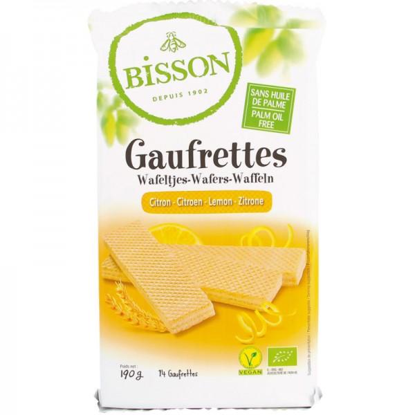 Gaufrettes Citron Bio, 190g - Bisson