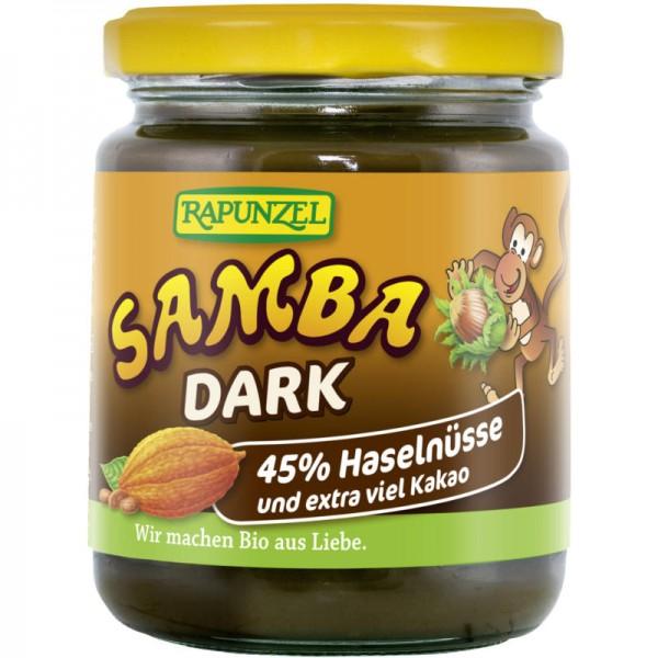 Samba Dark Haselnuss-Schoko-Aufstrich Bio, 250g - Rapunzel