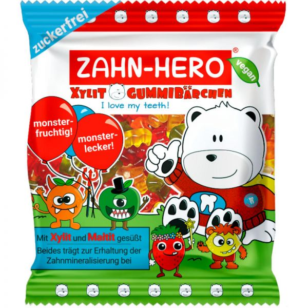 Zahn-Hero Xylit Gummibärchen Bio, 75g - Zahn-Hero