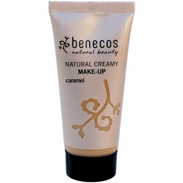 Natural Creamy Make-Up caramel, 30ml - Benecos