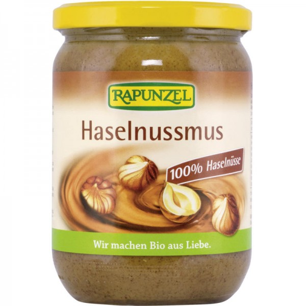 Haselnussmus Bio, 500g - Rapunzel