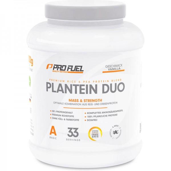 Plantein Duo Proteinpulver, 1kg - ProFuel