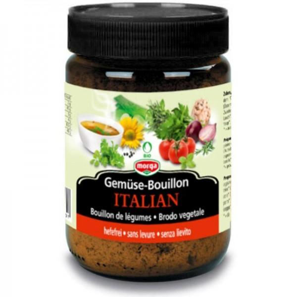 Gemüse Bouillon Italian hefefrei Bio, 200g - Morga