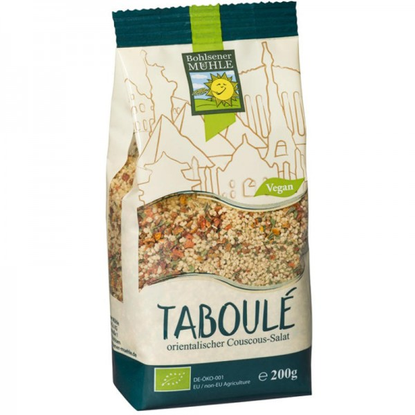 Taboulé orientalischer Couscous-Salat Bio, 250g - Bohlsener Mühle