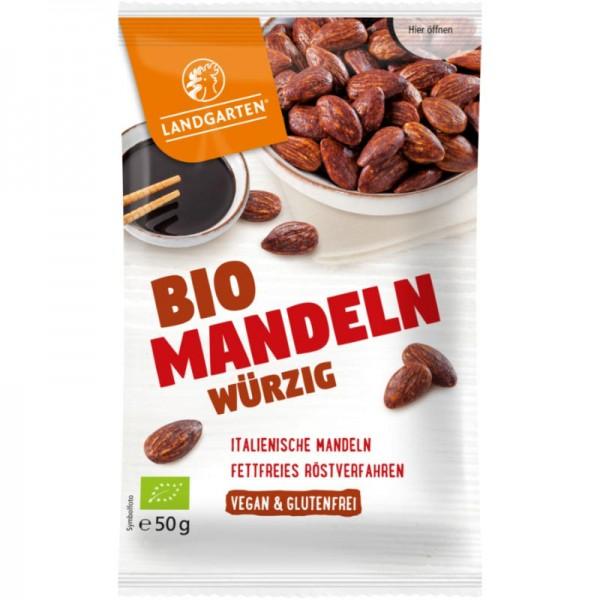 Mandeln Würzig Bio, 50g - Landgarten