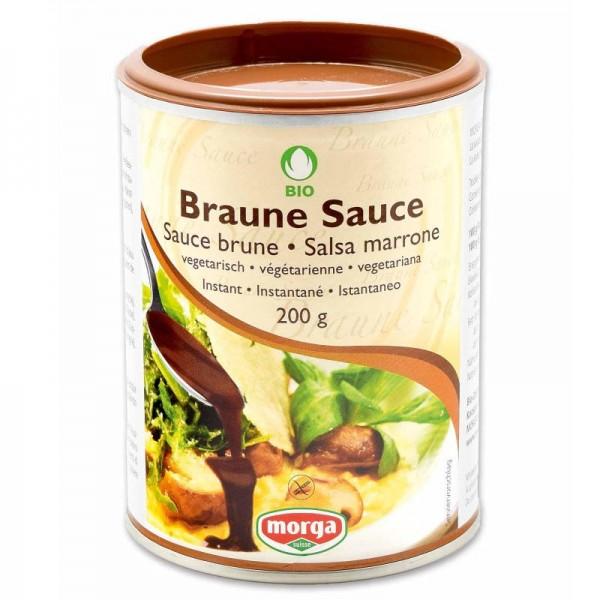 Braune Sauce Bio, 200g - Morga