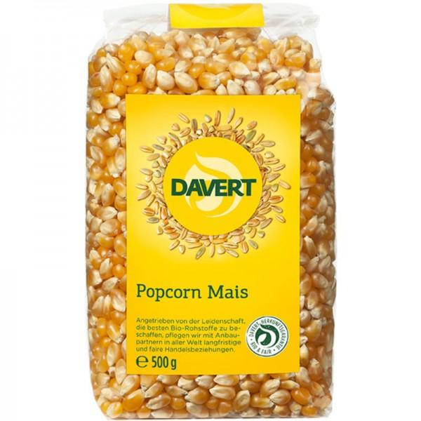 Popcorn Mais Bio, 500g - Davert