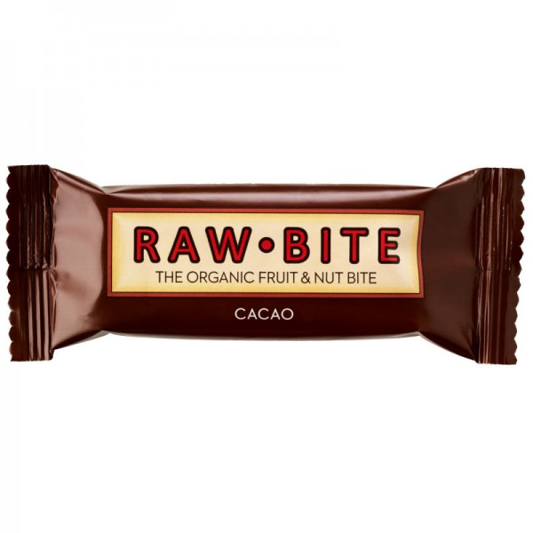 Cacao Rohkost-Riegel Bio, 50g - Raw Bite