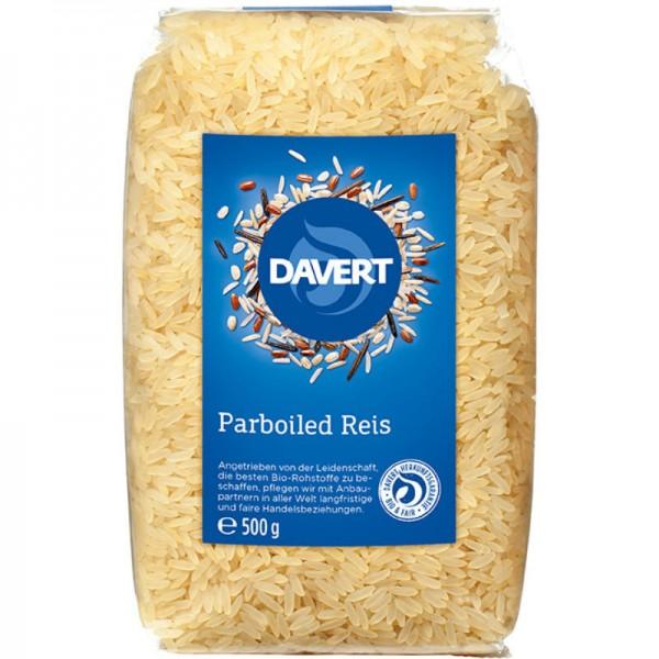 Parboiled Reis Bio, 500g - Davert