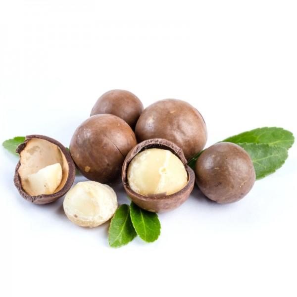 Macadamia Nusskernen halbe Bio, Beutel 1kg - Bio Partner