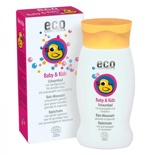 Baby & Kids Schaumbad mit Granatapfel & Sanddorn, 200ml - eco cosmetics