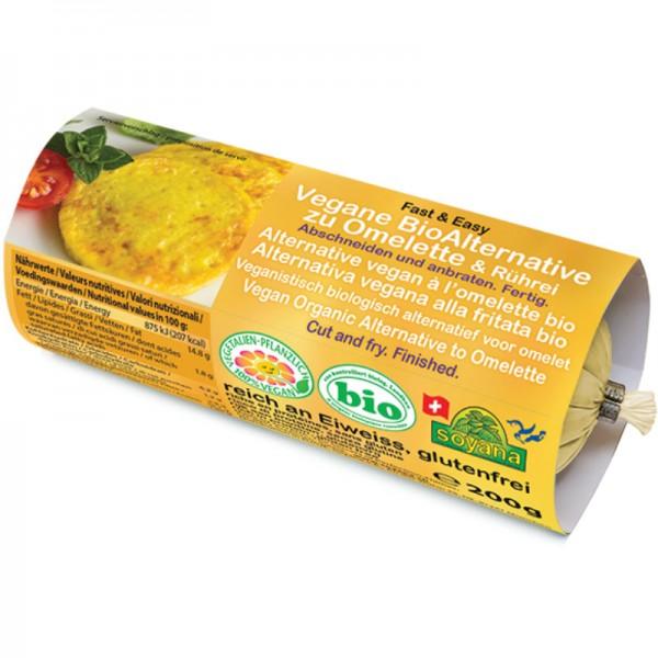 Vegane Alternative zu Omelette & Rührei Bio, 200g - Soyana