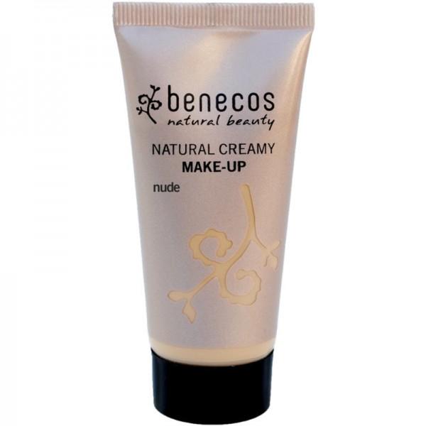 Natural Creamy Make-Up nude, 30ml - Benecos
