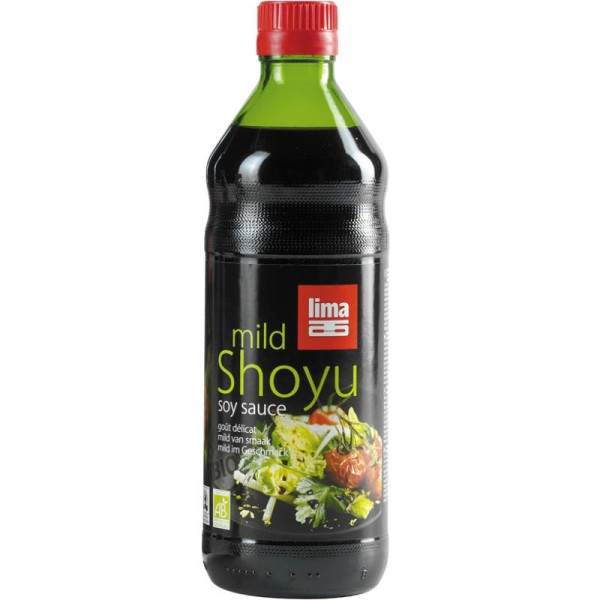 Shoyu mild soya sauce Bio, 500ml - Lima