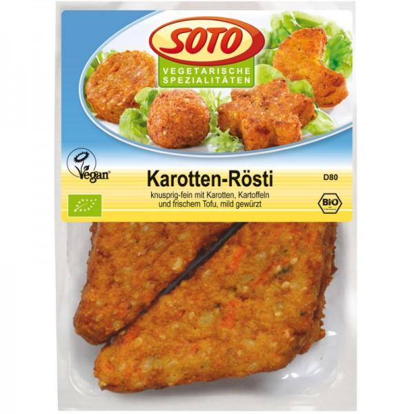 Karotten-Rösti Bio, 195g - Soto