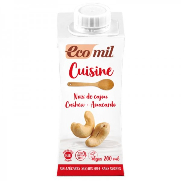 Cashew Nature Cuisine Zuckerfrei Bio, 200ml - Ecomil