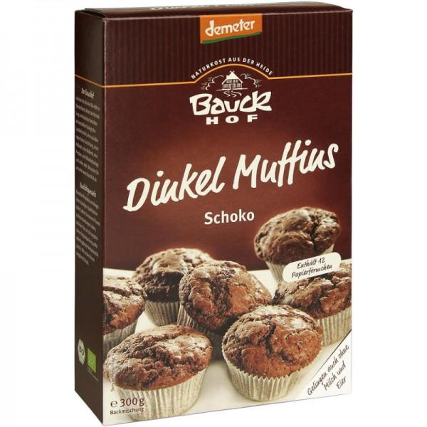 Dinkel Muffins Schoko  Backmischung Bio, 300g - Bauckhof