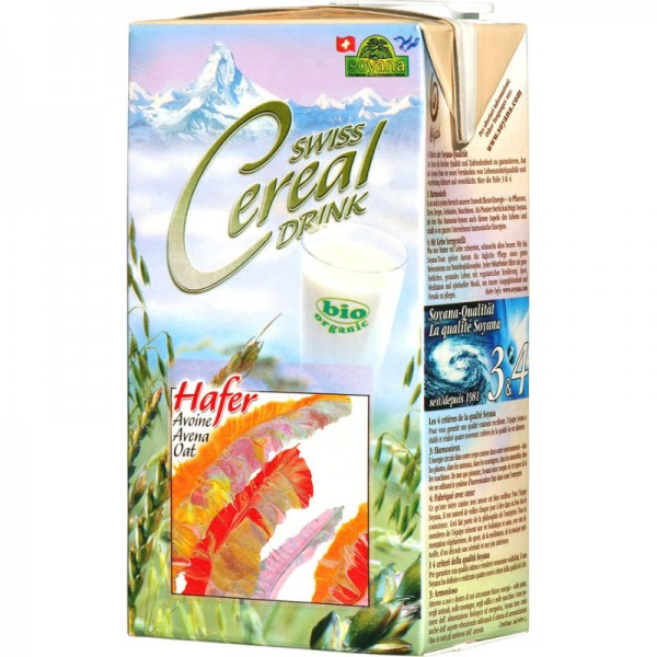Hafer Swiss Cereal-Drink Bio, 1L - Soyana