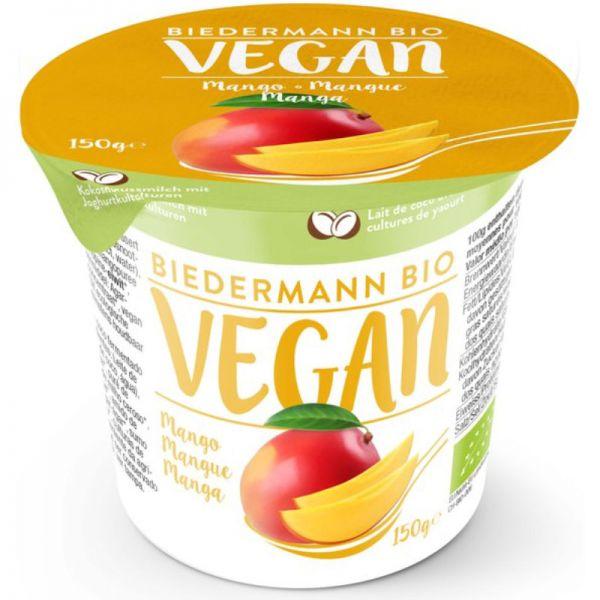 Kokosjoghurt mit Mango Bio, 150g - Biedermann