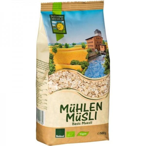 Basic Mühlen Müsli Bio, 500g - Bohlsener Mühle