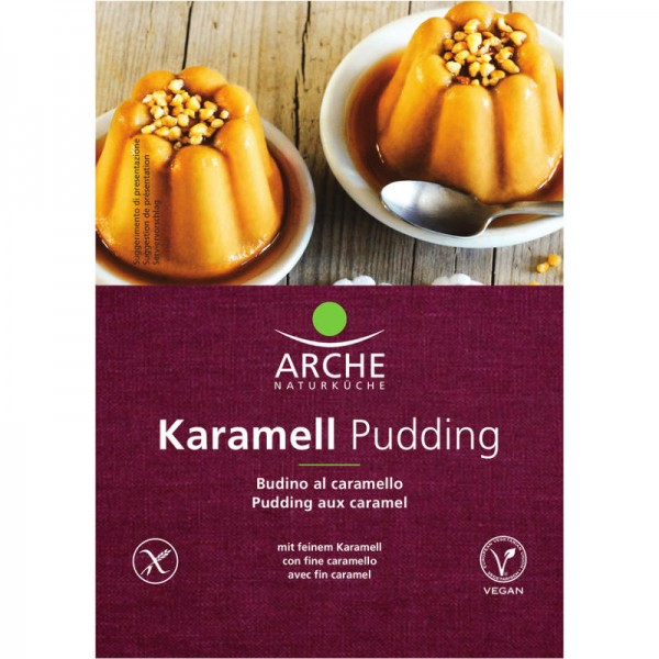 Karamell Pudding Bio, 45g - Arche